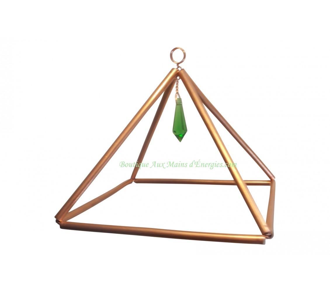 """Pyramide en cuivre 6"""""""