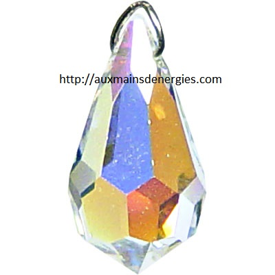 B.CRYSTAL-GOUTTE AURORA 20MM  Item # 62621