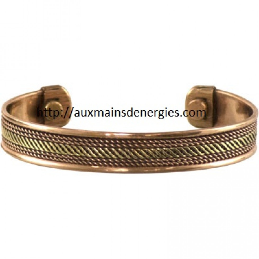bracelet cuivre magnetique ensemble de 4. Black Bedroom Furniture Sets. Home Design Ideas