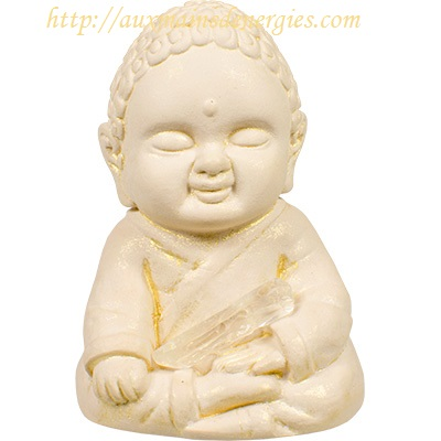 "BOUDDHA-GYPSE 2.75"" TOUCHERS-TERRE"