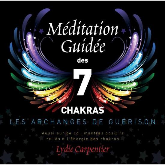 CD-Meditation Guidee des 7 Chakras les Archanges de Guerison