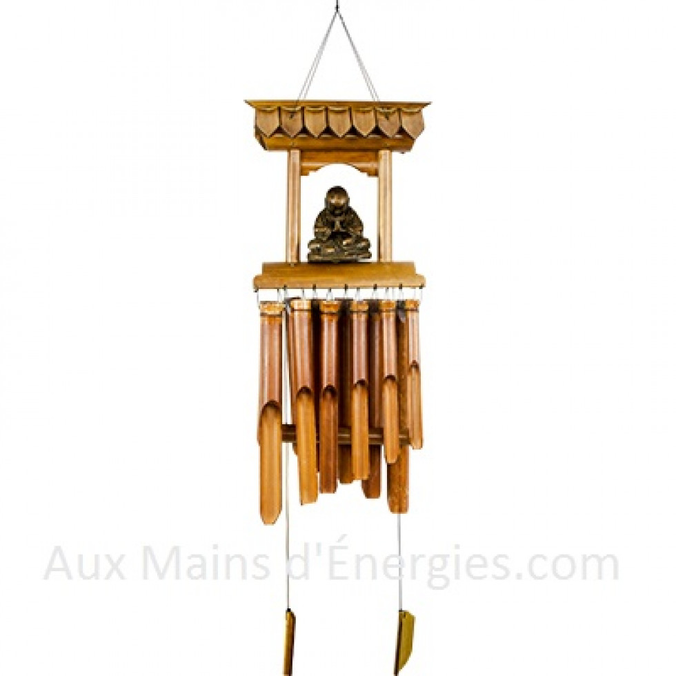 carillon bambou a vent temple bouddha. Black Bedroom Furniture Sets. Home Design Ideas