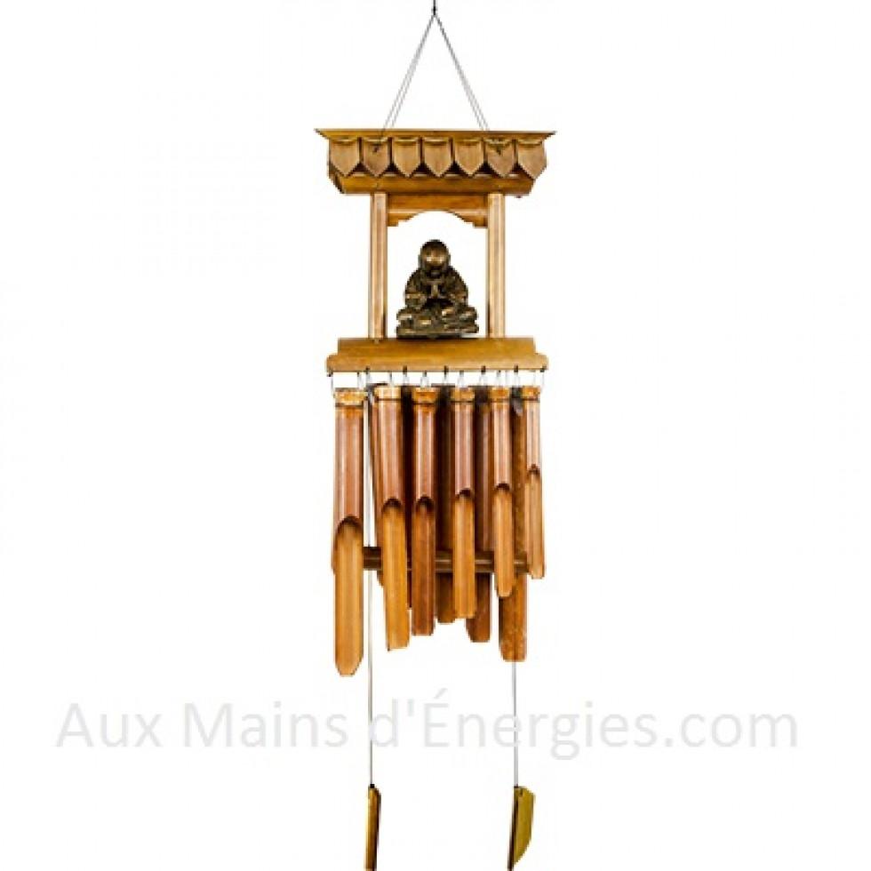 carillon bambou a vent temple bouddha. Black Bedroom Furniture Sets. Home Design Ideas