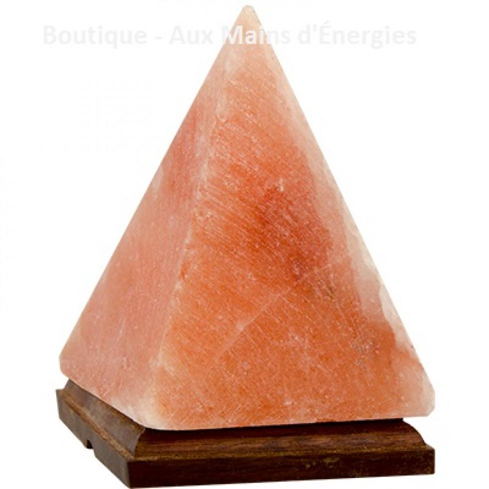 35817 Lampe Electrique De Sel Himalaya Pyramide