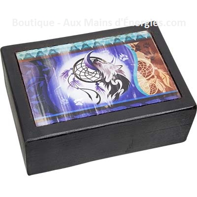 Sublime jewelry box lines - print glass dreamcatch