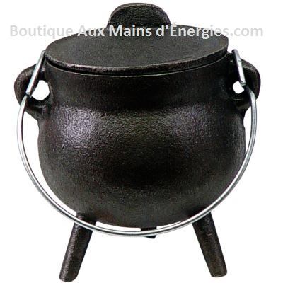 "CAST IRON CHAMBER - BLACK 2.75 ""DIAMETER."