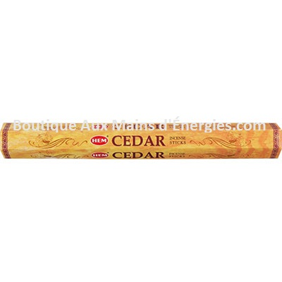 HEM HEXAGONAL INCENSE - CEDRE 20 GR (TUBE))