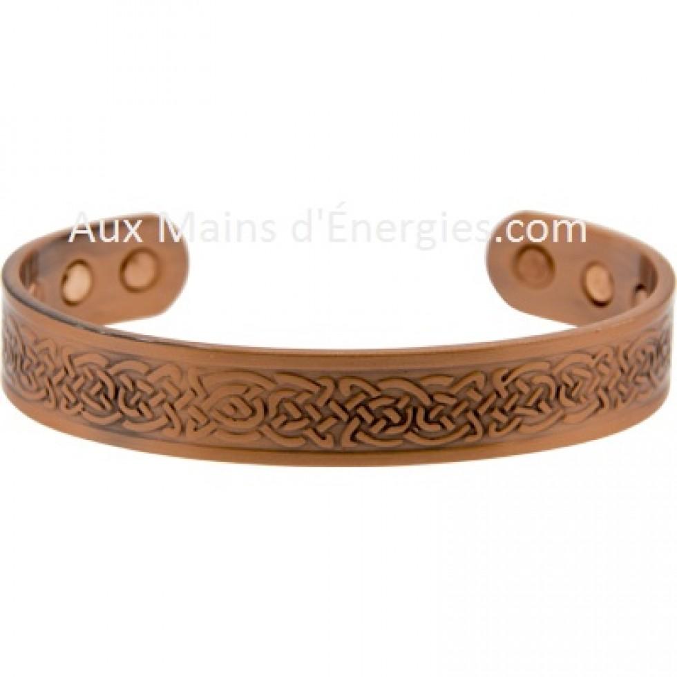 bracelet cuivre magnetique noeuds celtic. Black Bedroom Furniture Sets. Home Design Ideas