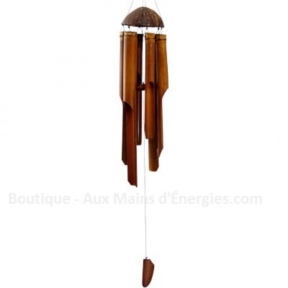 Bamboo musical chime - simple