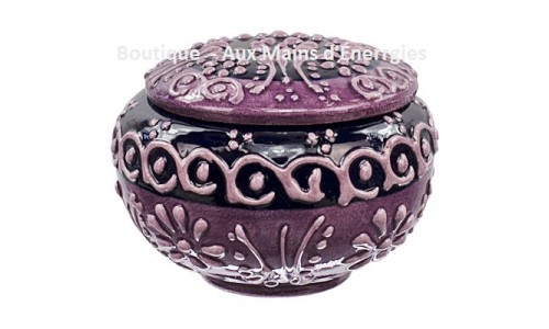 ELEGANT PORCELAIN JEWELRY BOX / CASE