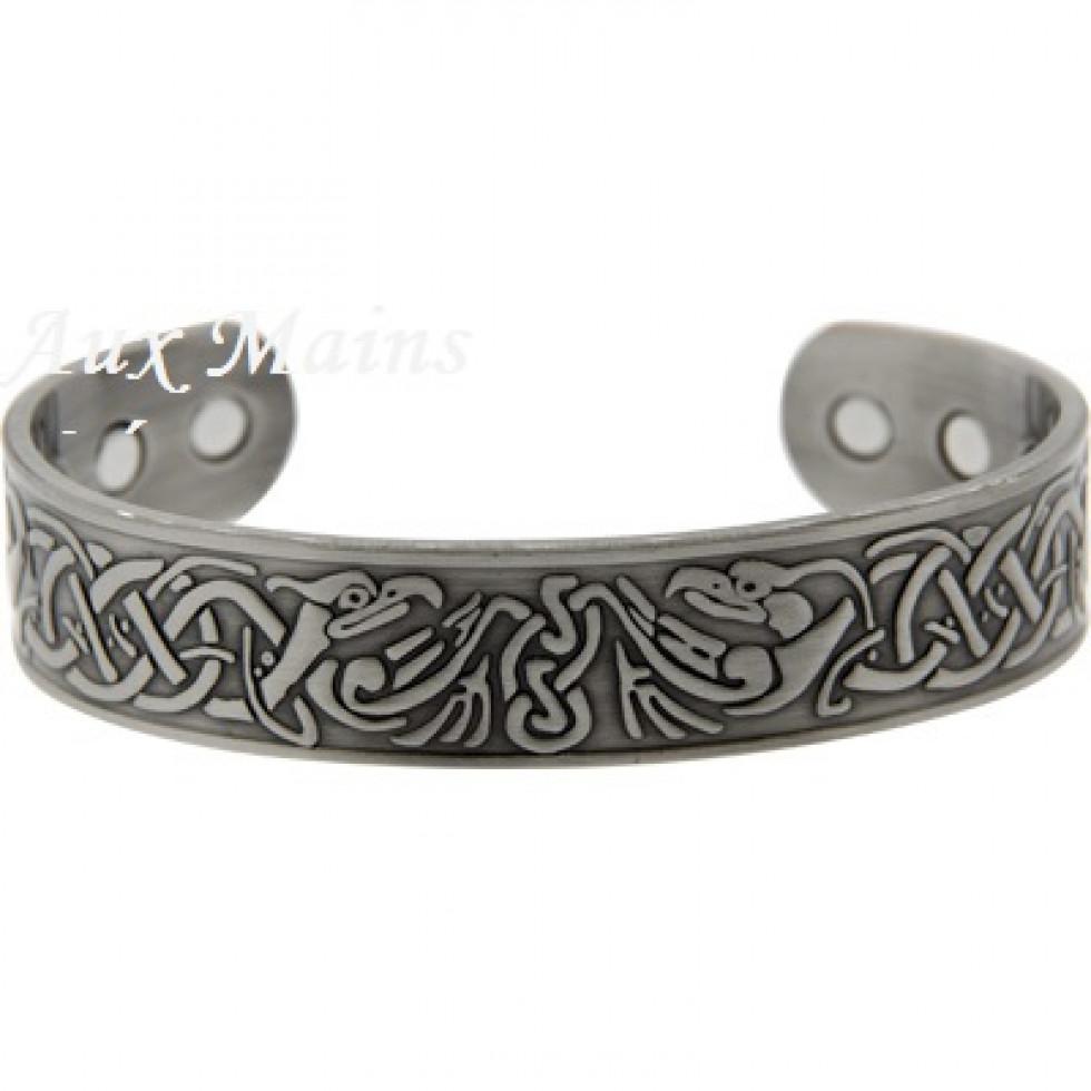 bracelet cuivre magnetique phoenix argent. Black Bedroom Furniture Sets. Home Design Ideas